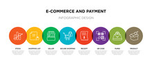 8 Colorful E-commerce And Paym...