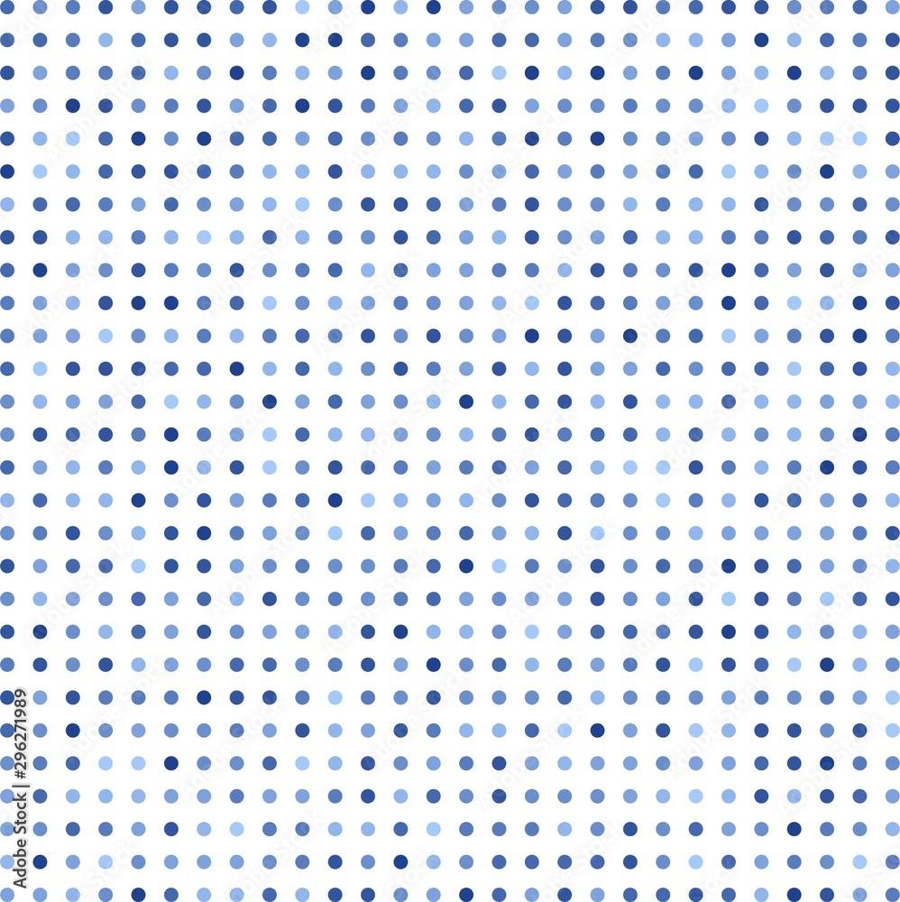 Fototapety, obrazy: blue polka dots background