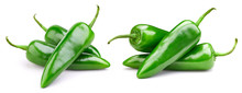 Green Pepper Collection Isolat...