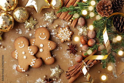 Fototapeta christmas cookies obraz