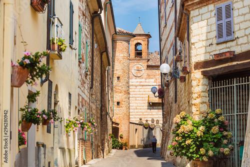 View of Cella Monte Monferrato, unesco world heritage Fototapet