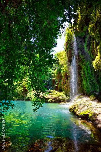 Kursunlu Nature Park and waterfall with lake - 296282169