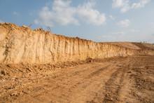Outdoor Construction Dirt Road...