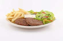 Grilled Minced Steak Dish With...