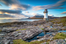 A Long Exposure Of Rhue Lighthouse