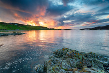 Stunning Sunset At Scourie Bay I