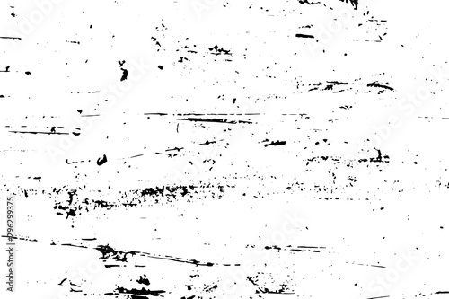 Fotografía Vector blank grained and scratched film strip texture background