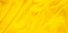 Background From Yellow Silk Fa...