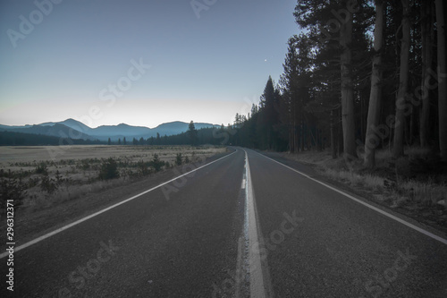 Fotografie, Tablou  Tioga Road Views in Yosemite National Park in California, United States