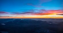 Sunset Over Colorado Rockies F...