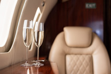 Selective Focus Of Interior Of...