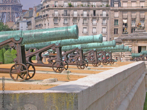 Photo Invalides, esplanade