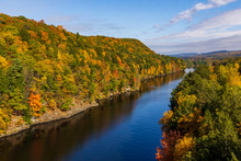 View From The French King Bridge, Millers Falls, MA