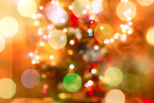 Defocused Christmas Light