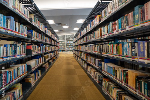 Fototapeta  Interior of library