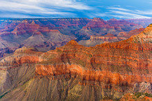 Sunset At Grand Canyon From Yaki Point,