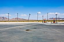 Petrol Station In The Desert N...