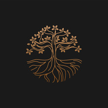 Fertile Tree Logo For The Heal...