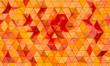Leinwanddruck Bild - geometric background with triangular shapes.