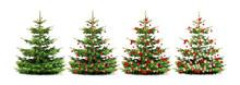 Geschmückter Weihnachtsbaum M...