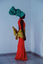 Profile Of Woman Wearing Ornat...