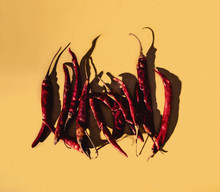 Close Up Of Chili Peppers