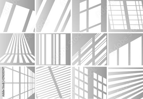 Obraz Big set of the overlay shadow effects. - fototapety do salonu