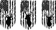 Distressed American Deer Hunti...