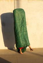 Model In High Heels Wearing Sl...