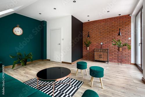 Obraz na plátne  Modern designed living room