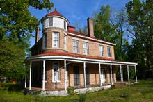 Old Abandoned Brick House