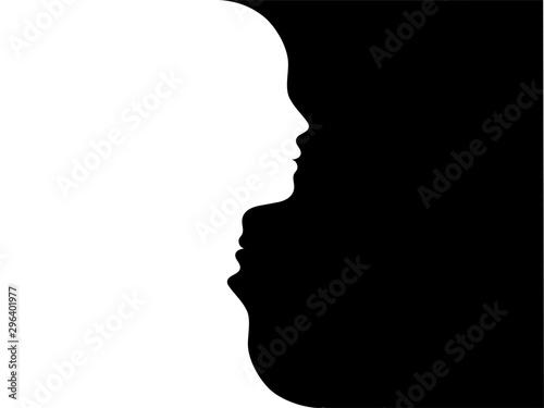 Tablou Canvas Double face