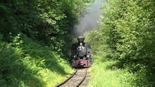 Old Steam Locomotive Train On ...