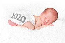 2020 New Year Baby