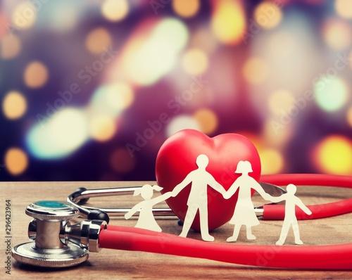 Fotografia  Insurance health family medicine life therapy healthcare
