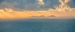 Beautiful view landscape seascape sunrise morning sunlight Valentia Island Cromwell Point Lighthouse Portmagee Ring ok Kerry Ireland colors amazing splitting lights
