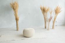 The Corn In The Vases. Interio...