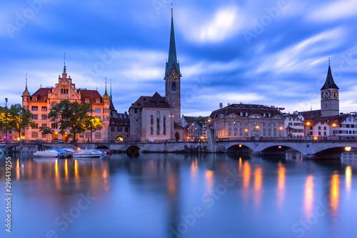 Zurich, largest city in Switzerland - 296439755