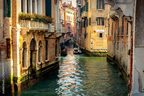 Photo canal in venice