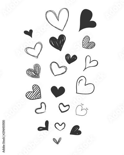 zestaw-kulas-czarne-serca-kolekcja-ksztaltow-serca-rysuje-reke-symbol-milosci-elementy-projektu-do-dekoracji-karty-slubu-wektor-serca-ilustracji-wektorowych