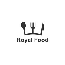 Royal Food Logo Template, Desi...