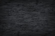 Leinwanddruck Bild - Wood Dark or black plywood texture background texture