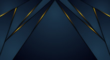 Dark Blue Abstract Corporate G...