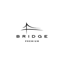 Bridge Logo Vector Icon Illust...