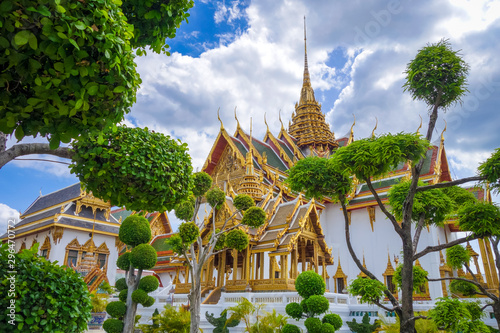 Canvas Print Grand Palace, Bangkok, Thailand