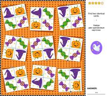 Visual Logic Puzzle Halloween ...