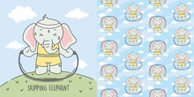Elephant Skipping To Make The ...