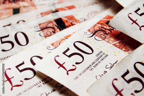 Photo  United Kingdom banknote