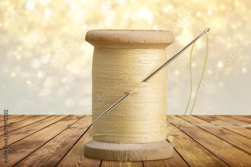 Slika na platnu Spool of Thread and Needle