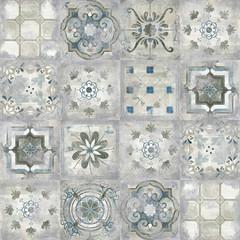 Fototapeta Struktura ściany Vintage ceramic surface, retro tile design